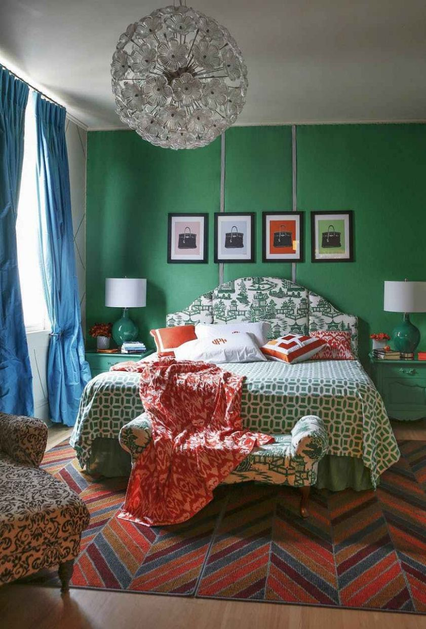 Remodelaholic Color Files Jade Green Bedroom 12 (With images ...
