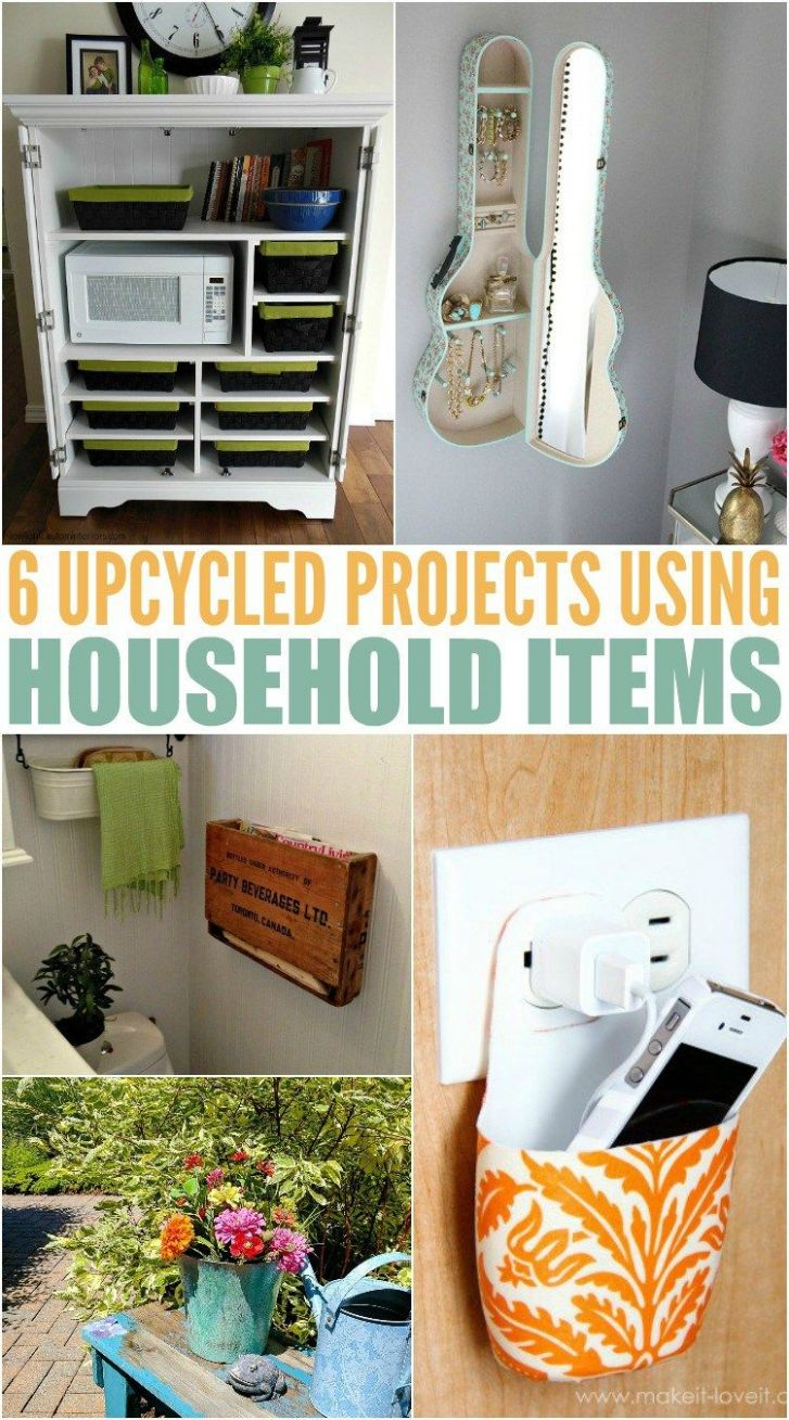 Repurpose Household Items For A More Organized Home (With images ..
