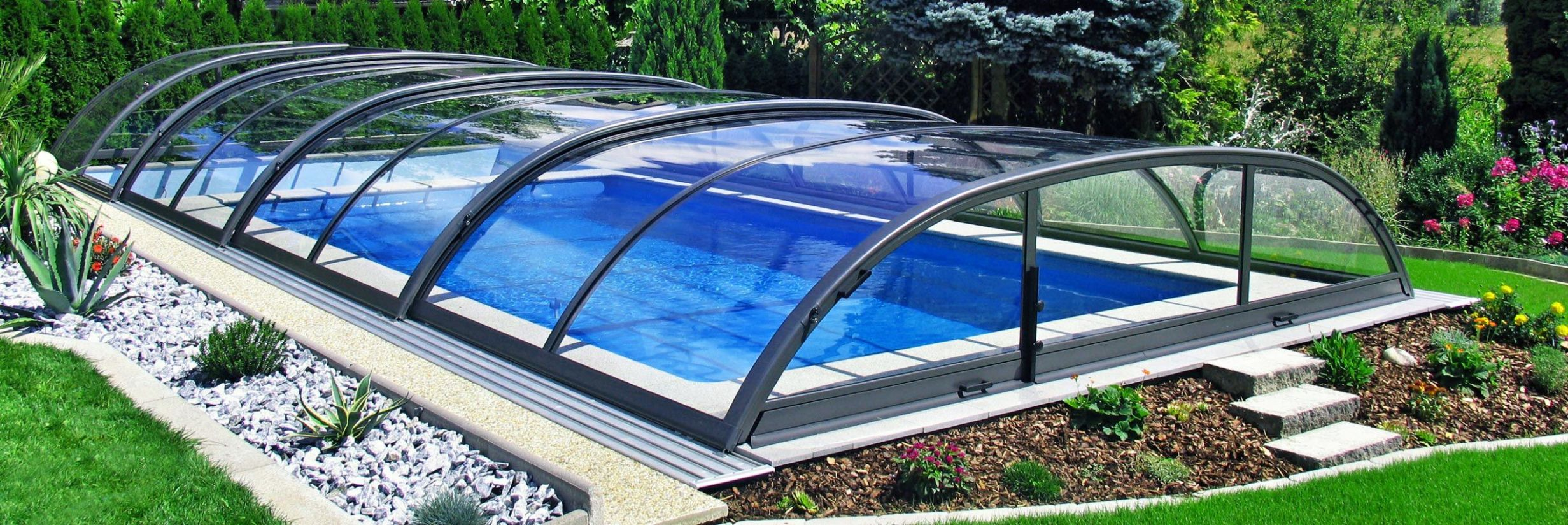 Retractable Pool Enclosures for your swimming pool ! | sunrooms ..