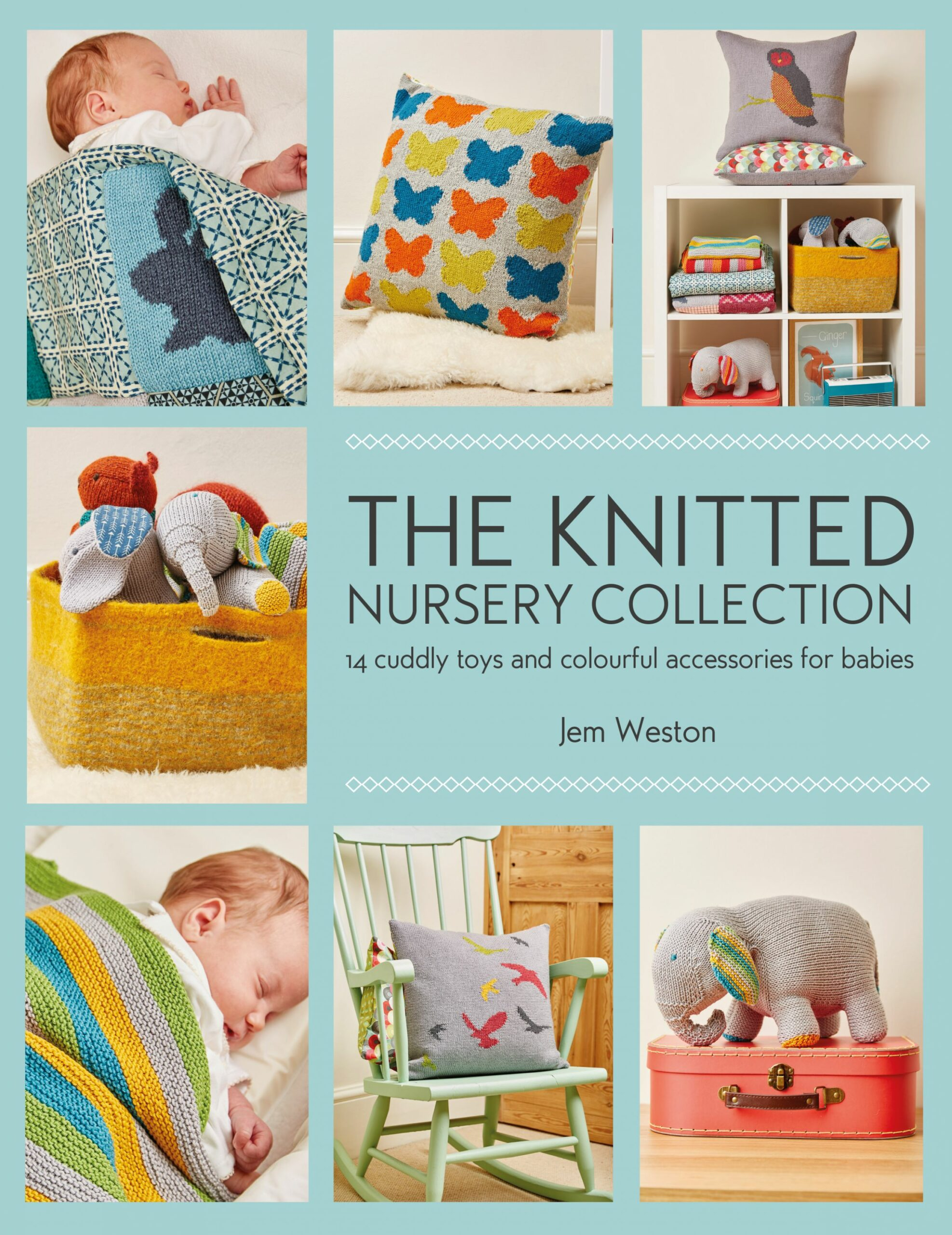 Review Knitted Nursery Collection by Jem Weston | Knitting With Rowan - baby room jem