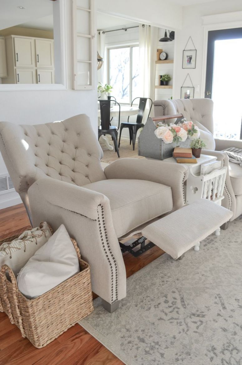 Review of Our Walmart Recliners (With images) | Living room decor ..