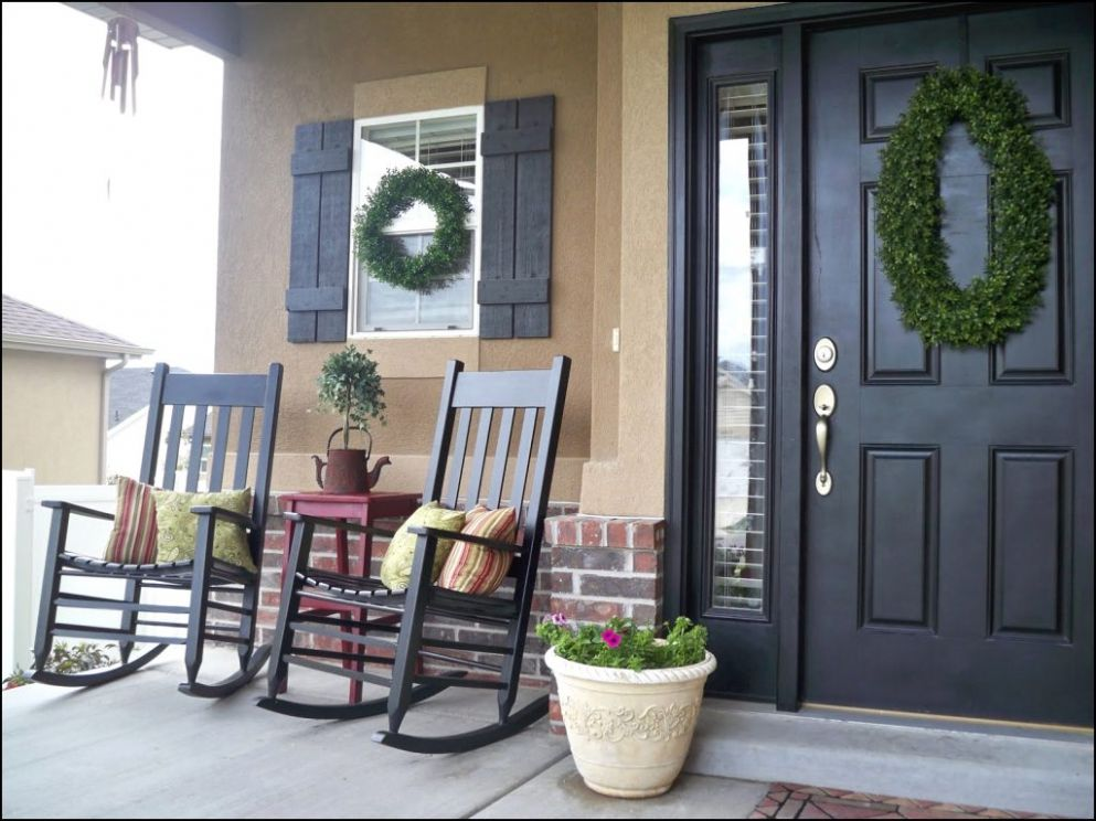 Rocking Chairs Furniture Patio Front Porch Beautiful Chair Ideas ..