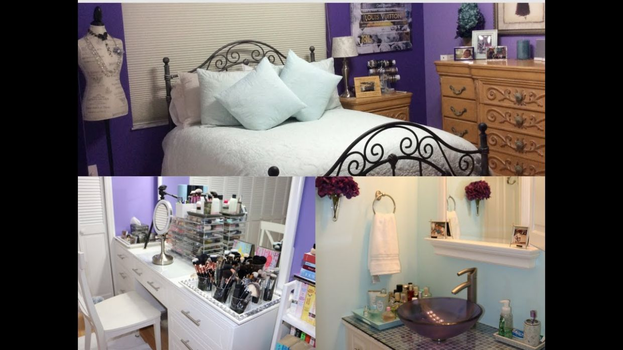 ROOM TOUR : Bedroom, Makeup Room & Bathroom Tour