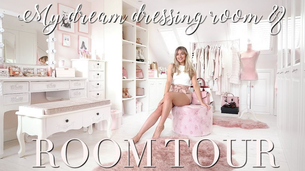 ROOM TOUR ~ My DREAM Dressing Room & Bedroom! ~ Freddy My Love - makeup room tour 2018