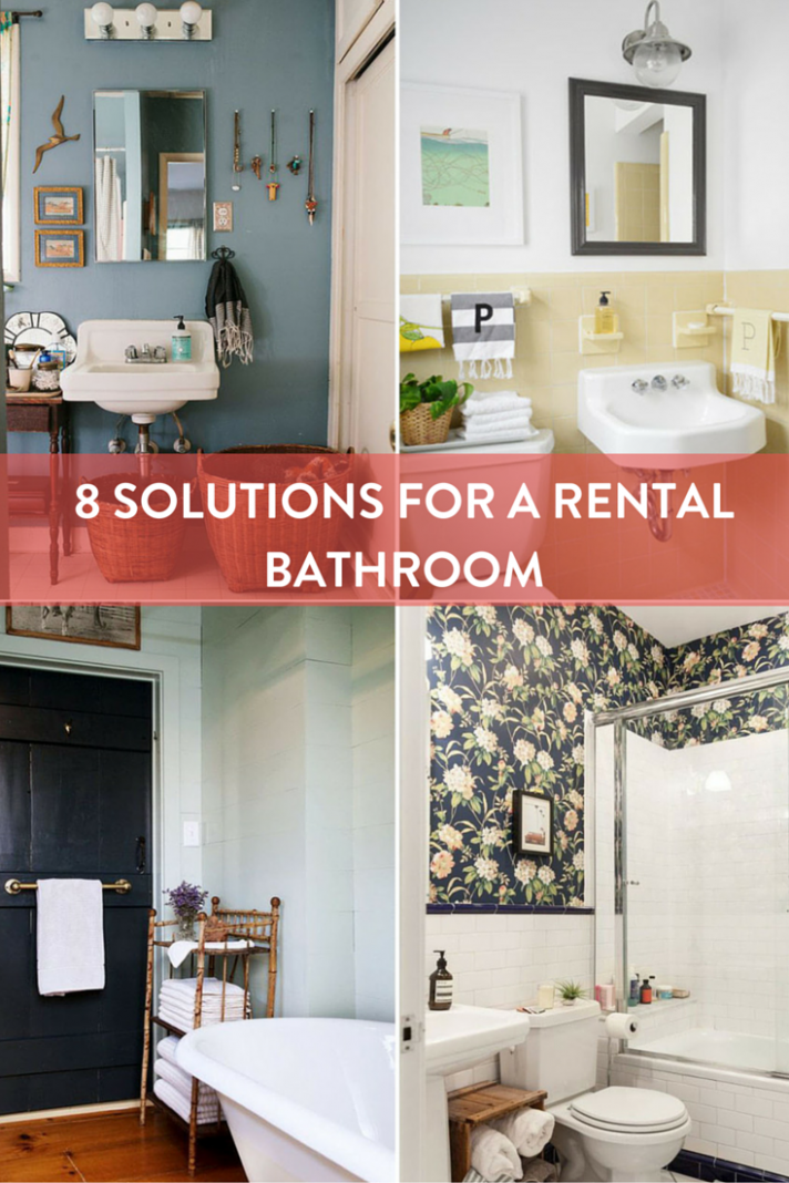 Roundup: 9 Solutions to Help Your Rental Bathroom | Rental ..