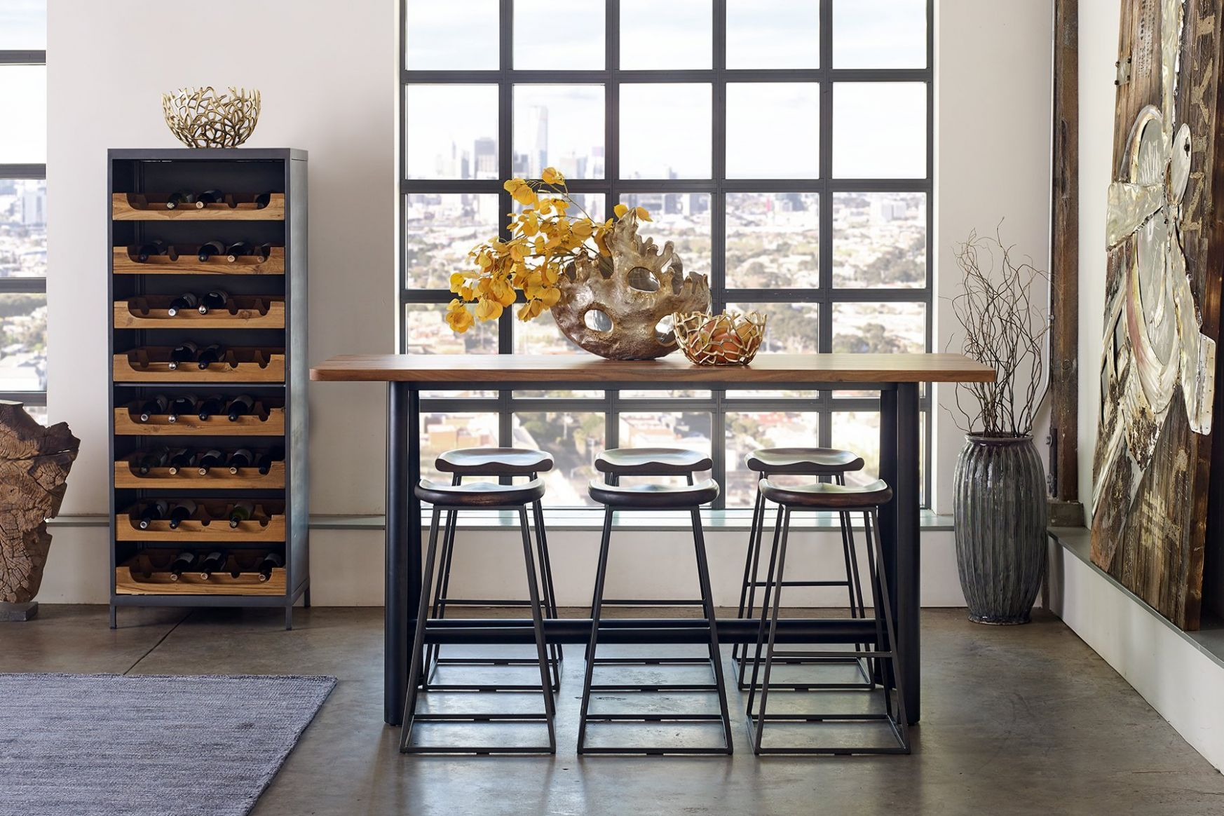 RUSTIC STOOLS BY INTRUSTIC HOME DECOR – Warehouse C Furniture - home decor warehouse