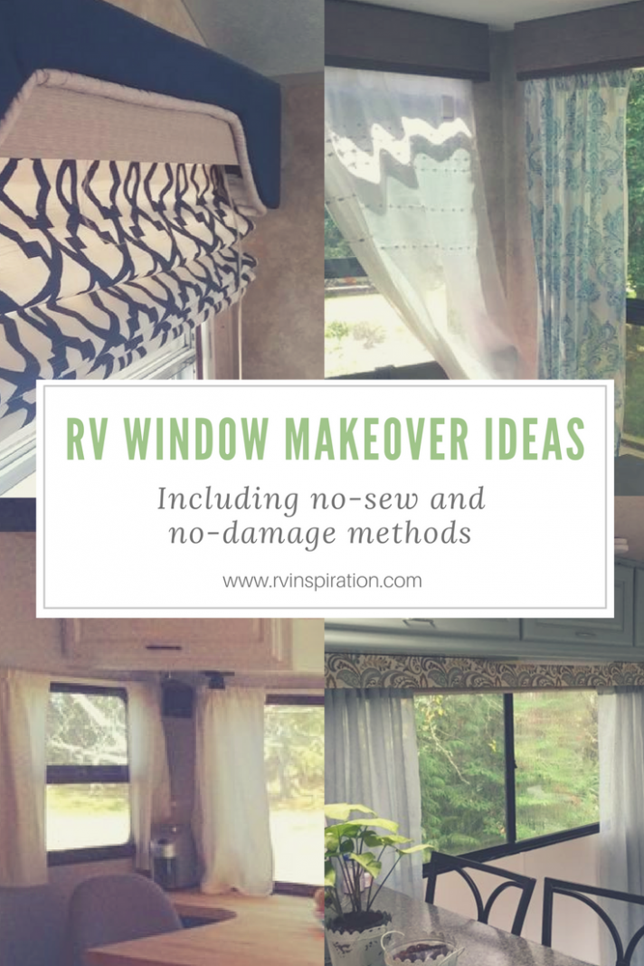 RV Window Makeover Ideas (With Pictures!) (With images) | Travel ...