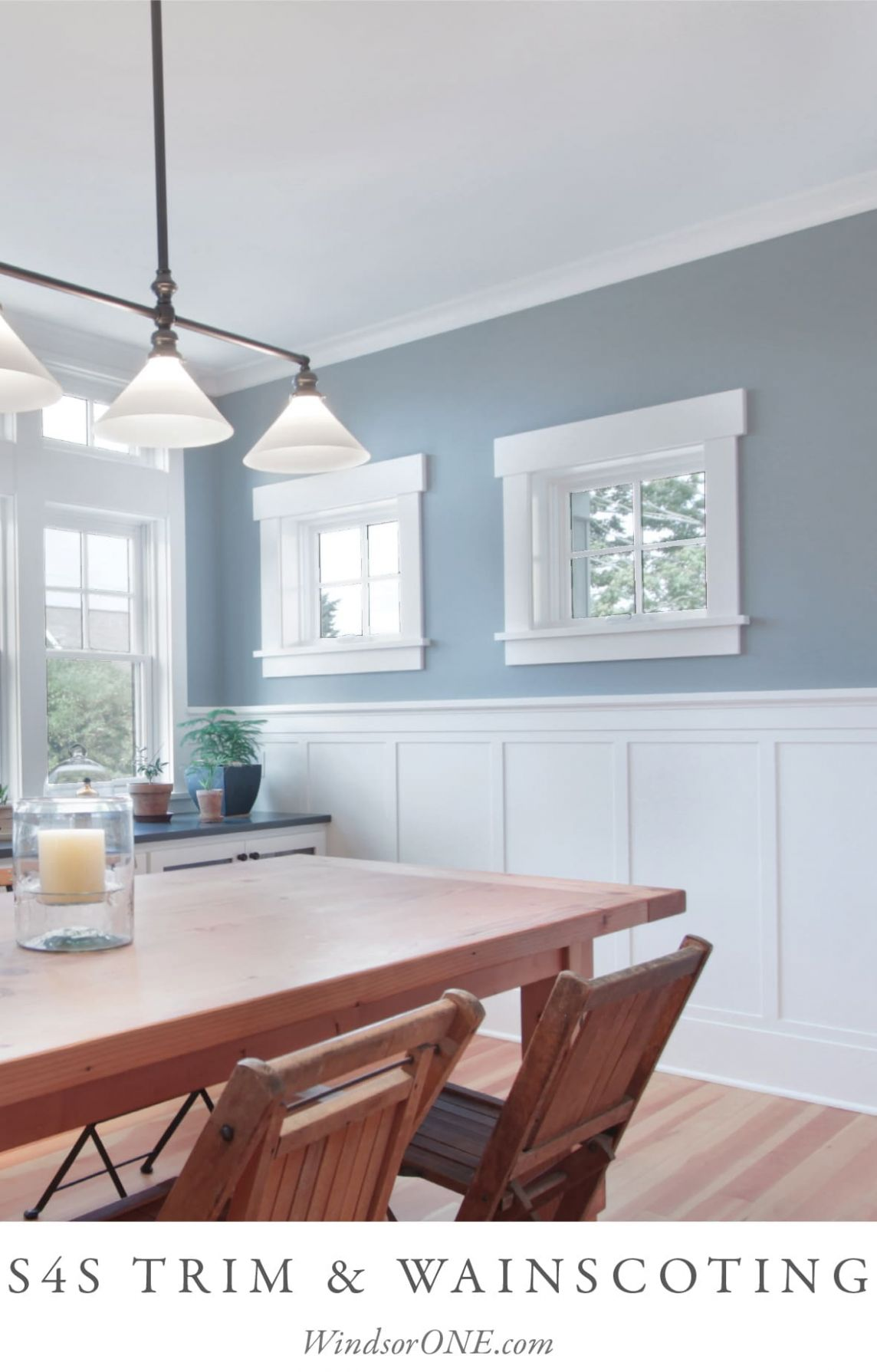 S11S WAINSCOTING AND TRIM - WindsorONE - dining room trim ideas