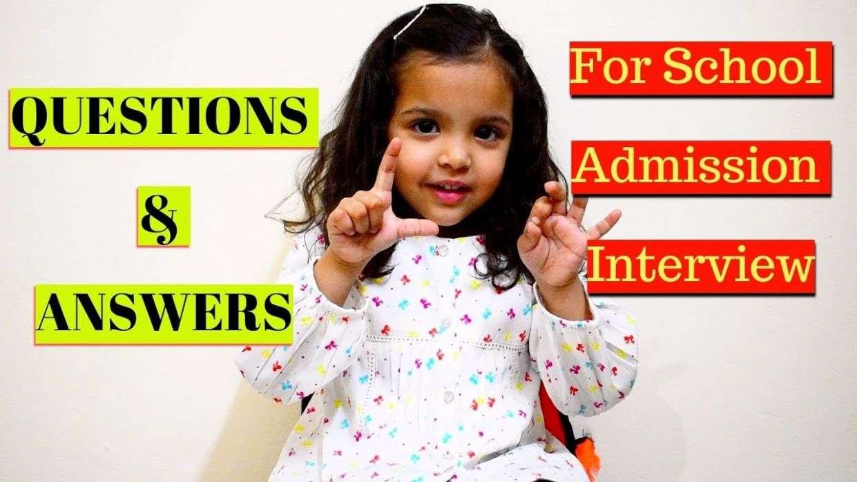 School Admission Interview Question & Answers for Kids|Preparation &Tips  For School Interview,India - baby room interview questions