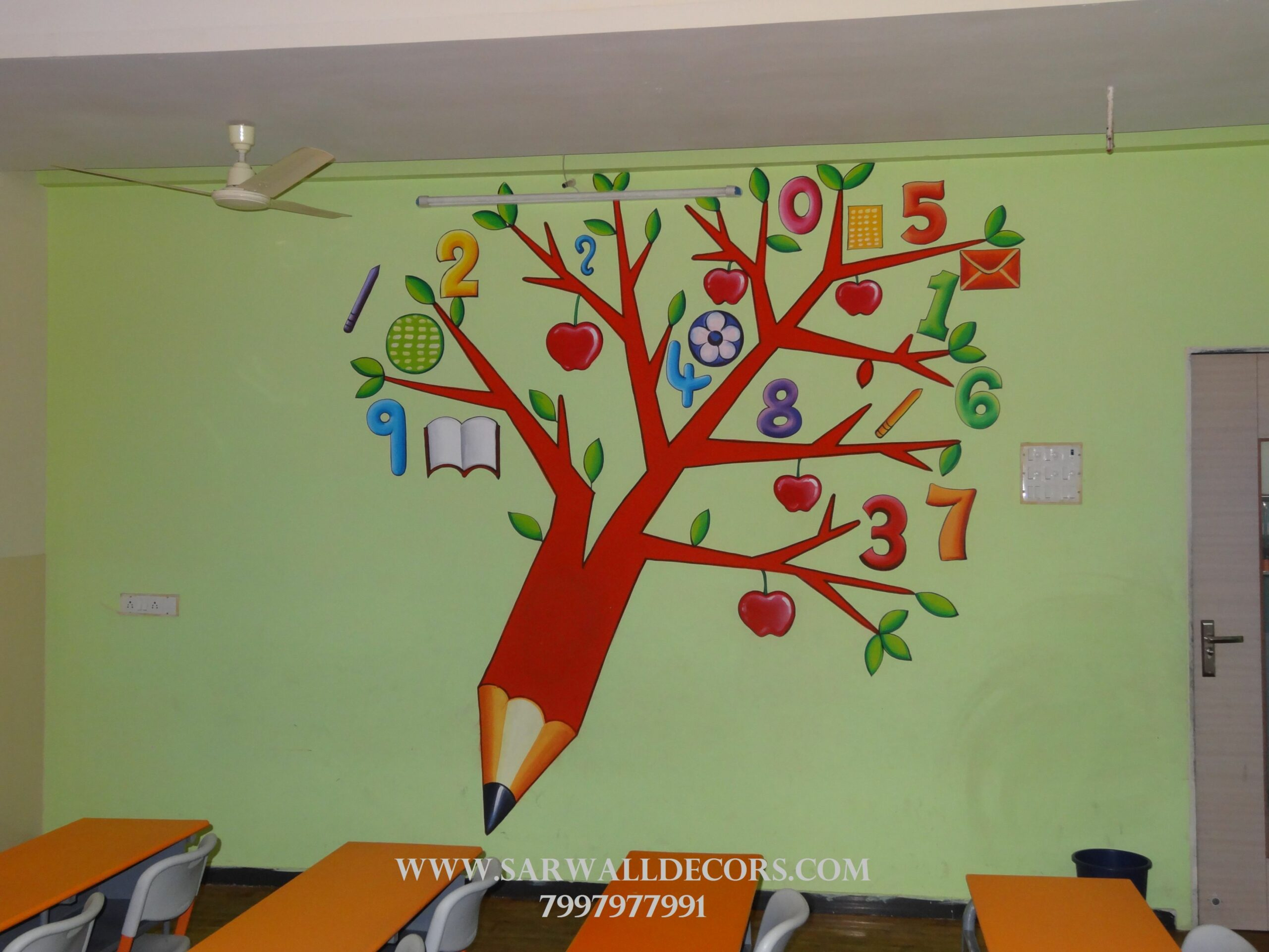 School Wall Paintings Hyderabad School Cartoon Art Hyderabad ...
