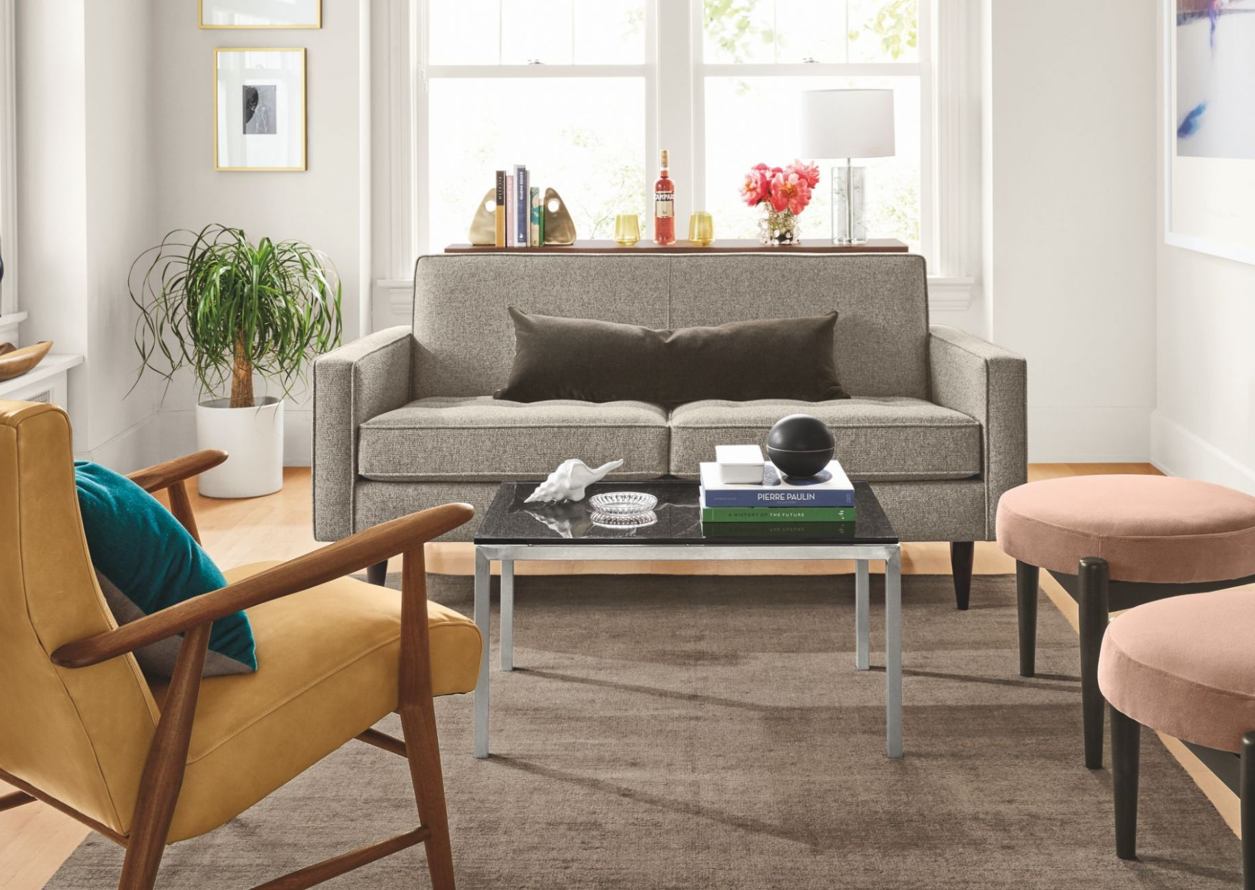 Seating Ideas for a Small Living Room - Ideas & Advice - Room & Board