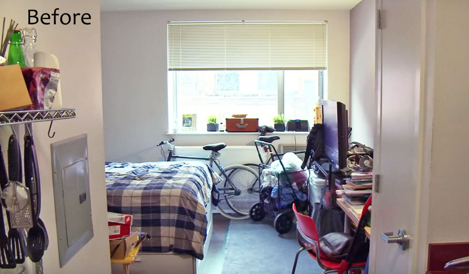 See IKEA's smart makeover of this 12-sq-ft Bronx studio apartment