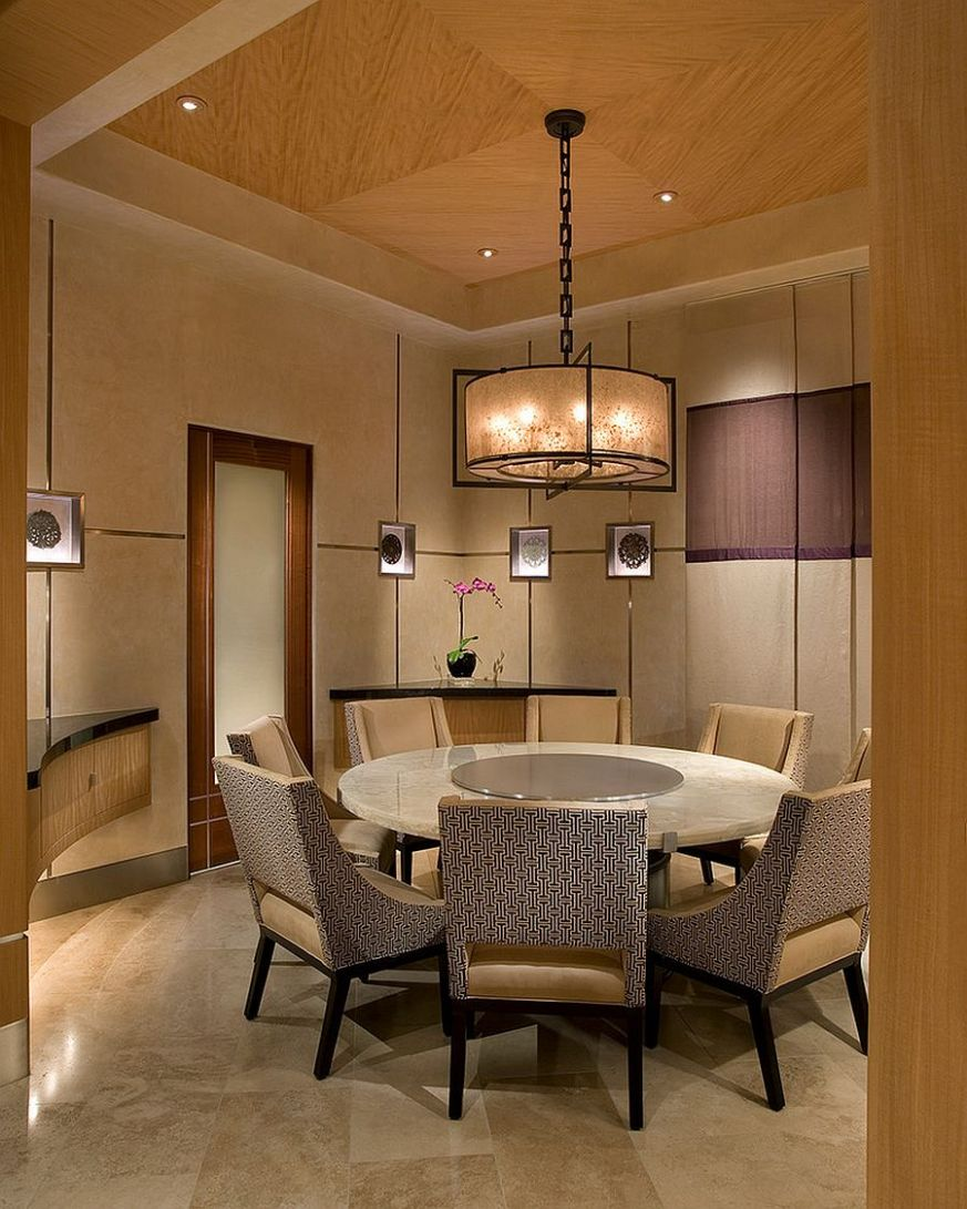 Serene and Practical: 9 Asian-Style Dining Rooms - japanese dining room ideas