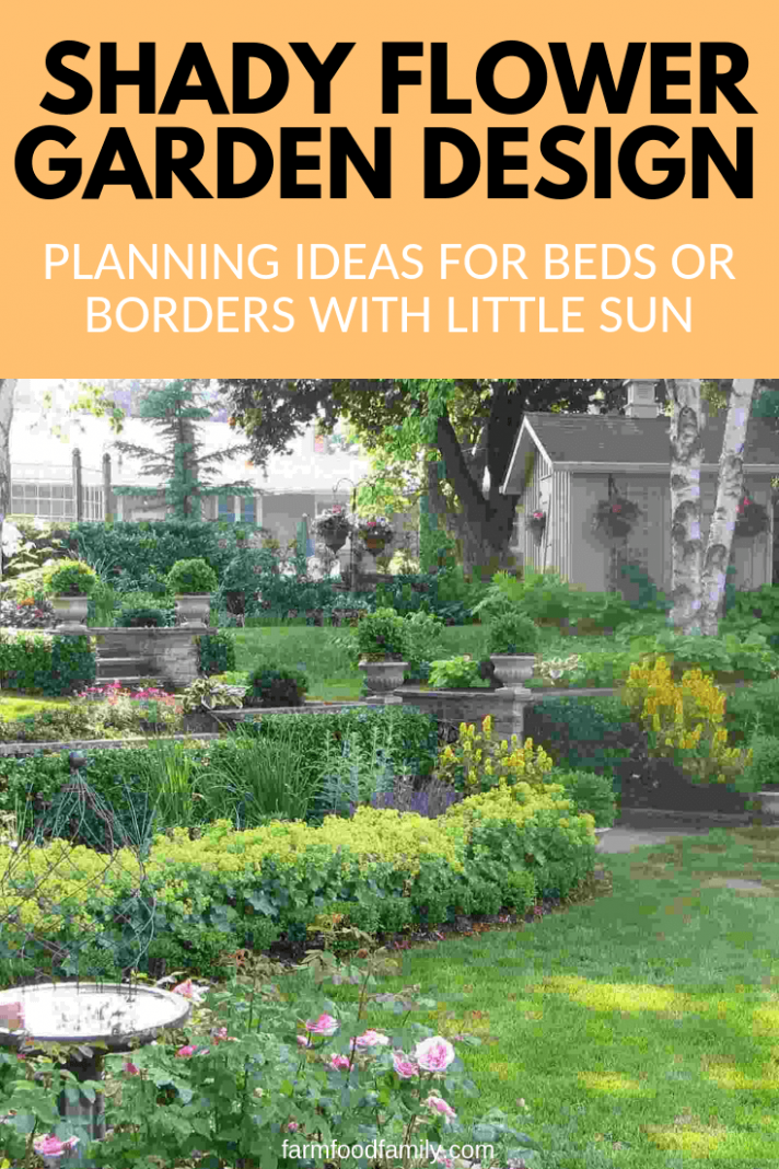 Shady Flower Garden Design Tips: Ideas for Beds with Little Sun ..