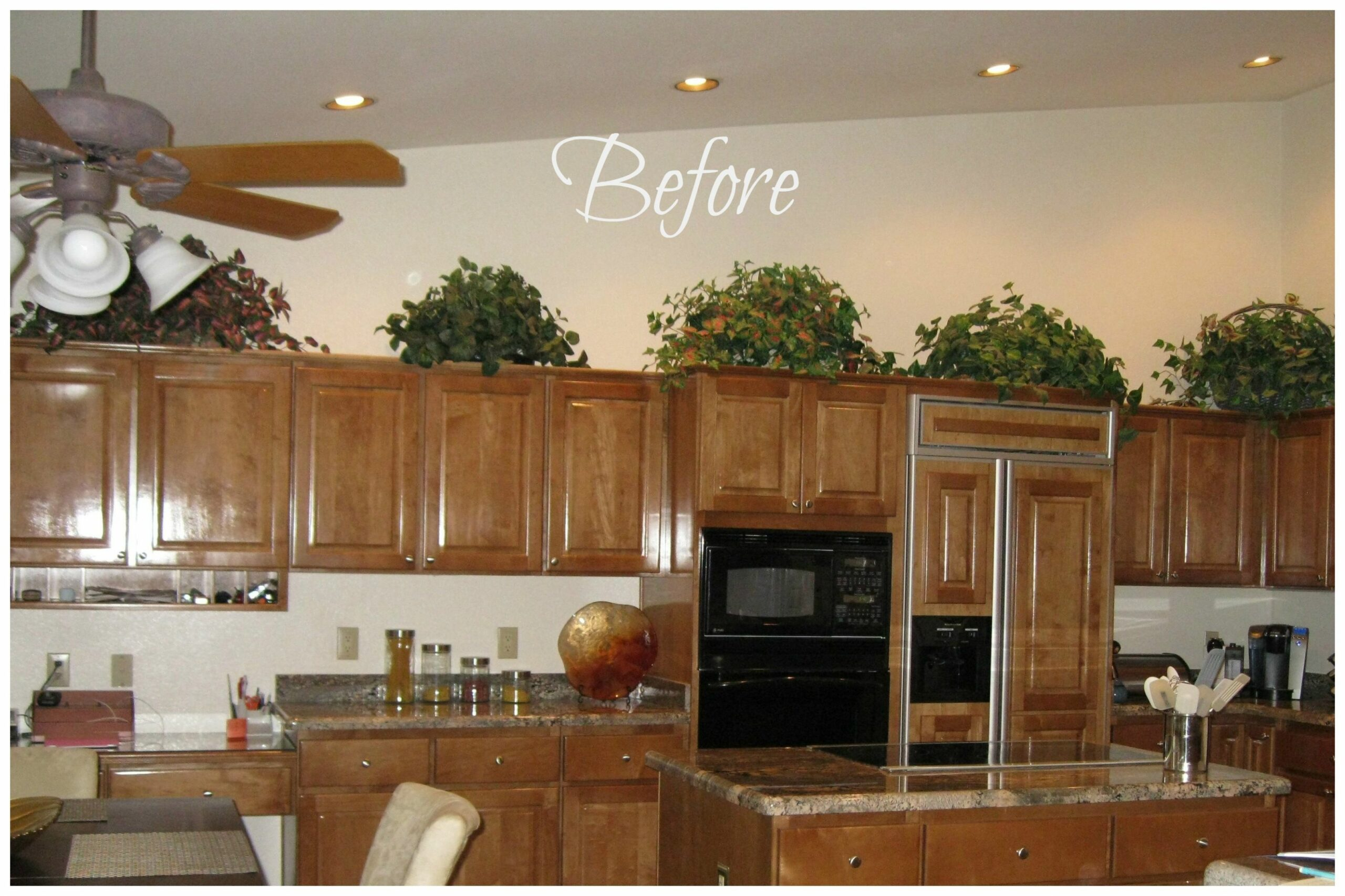 Shocking Ideas For Decorating Above Kitchen Cabinets Best Cabinet ...