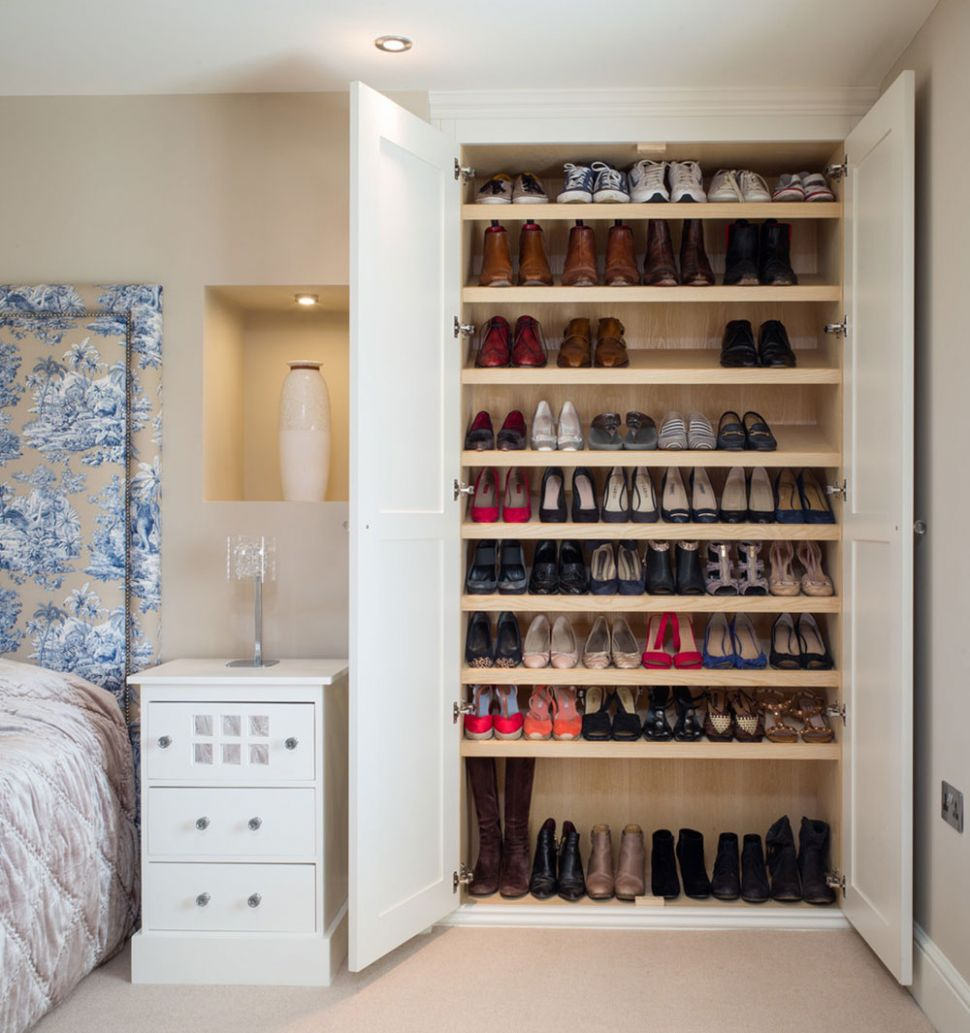 Shoe Storage Ideas For Better Organizing - closet ideas for shoes