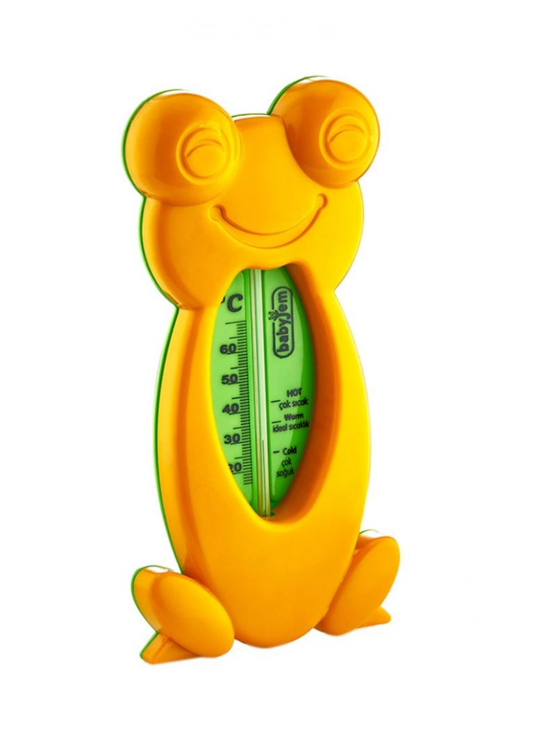 Shop baby jem Frog Shaped Bath And Room Thermometer 11T online in Dubai,  Abu Dhabi and all UAE - baby room jem