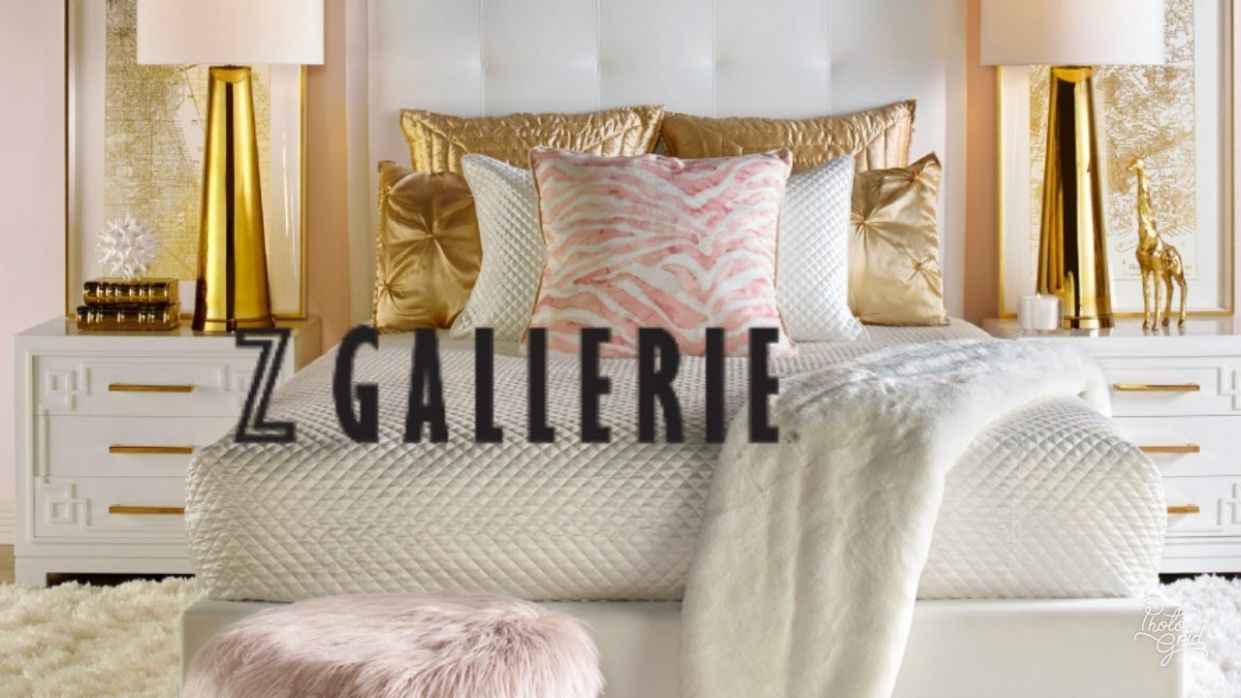 SHOP WITH ME: Z GALLERIE | LUXARY GLAMOROUS ROOM | JANUARY 8 HOME DECOR  IDEAS - z gallerie bedroom ideas