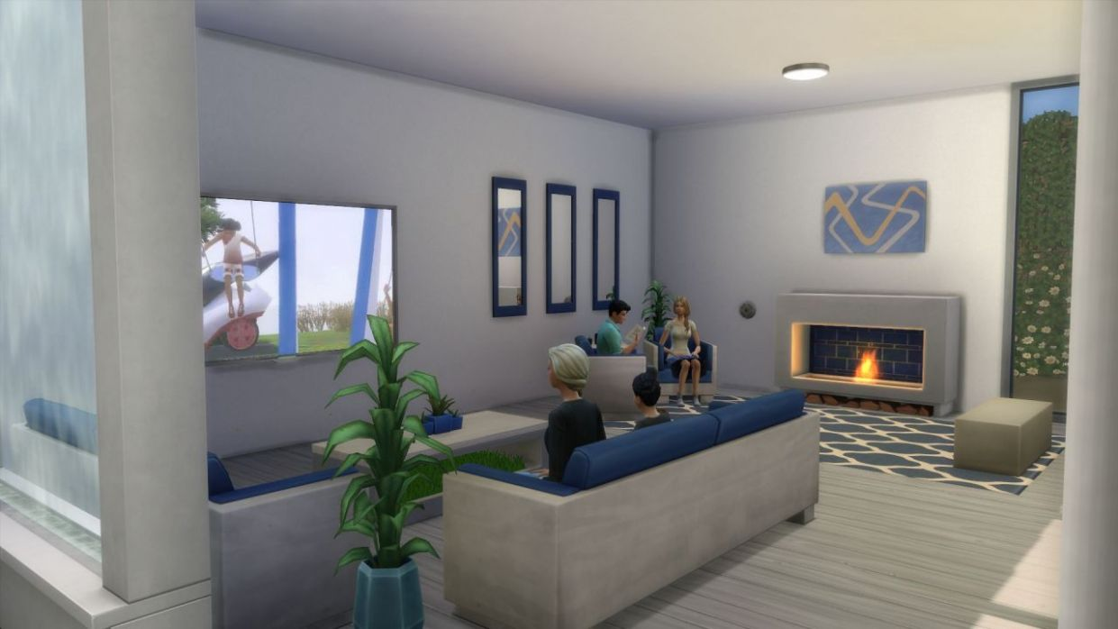 Show me your living rooms and family rooms