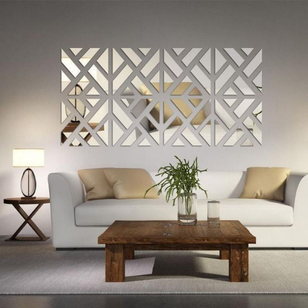 Silver Wall Art Decor — Home Inspirations : Elegant Silver Wall ..
