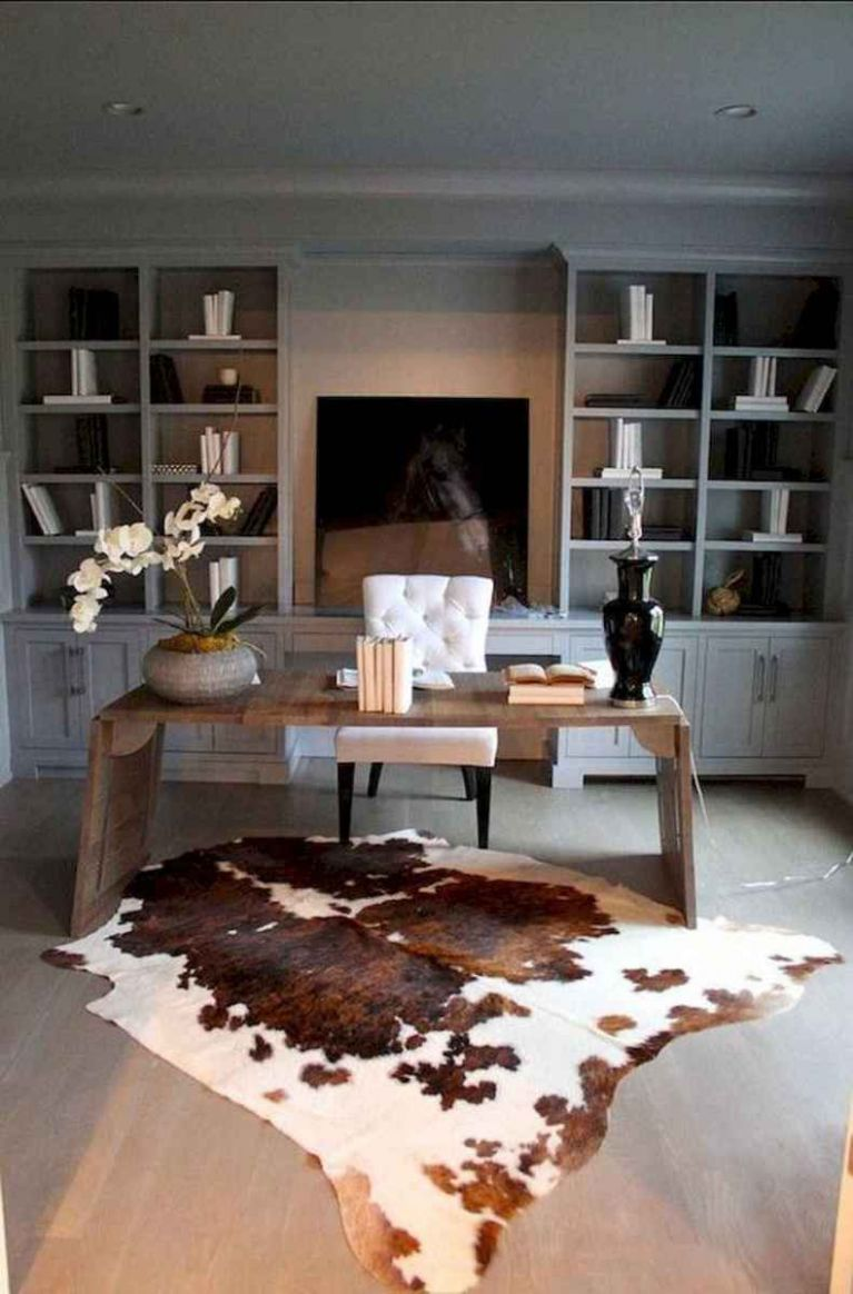 Simple home office decor ideas for men (11) - Room a Holic - home office ideas man