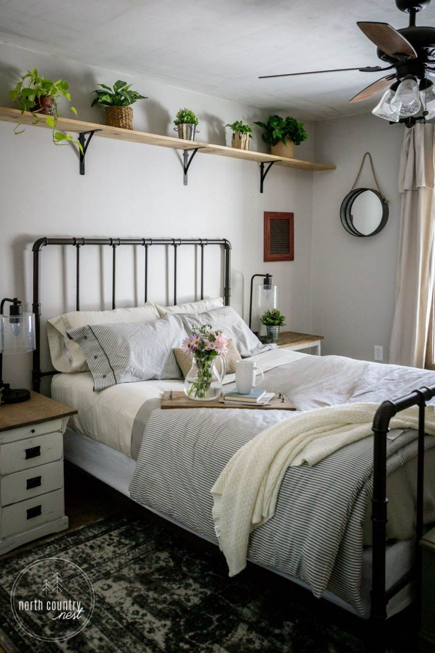 Simple Spring Decor for the Guest Bedroom (With images) | Home ..