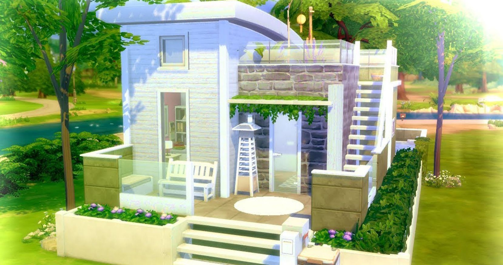 Sims 11: 11 Completely Functional Tiny Homes (That Use No Custom ..