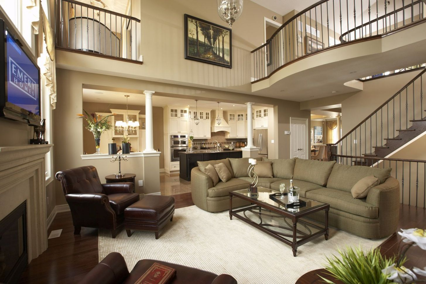 Single Family Home Prices Up (With images) | Model home decorating ...