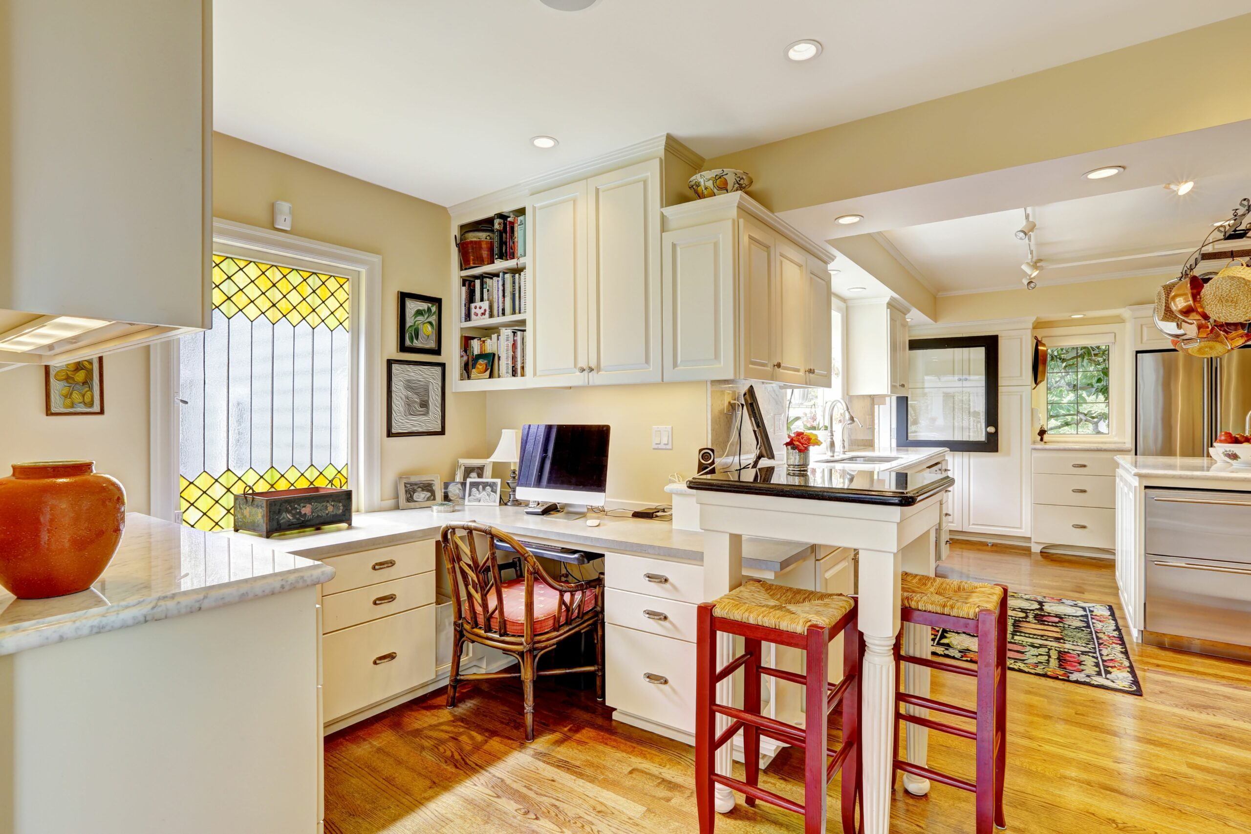 Six Ideas for Creating a Dual-Purpose Home Office - Modernize