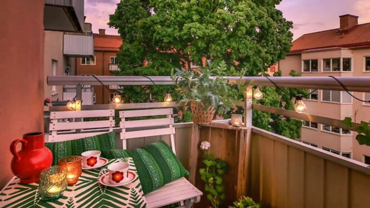 Small and Tiny Balconies, Design Ideas