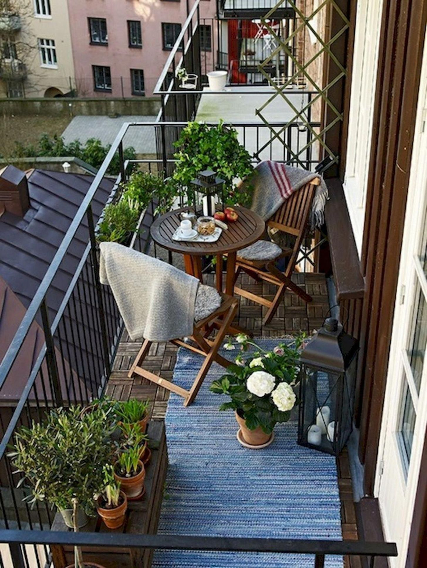 Small Apartment Balcony Inspiration | Hey It's Julay Simple and ...