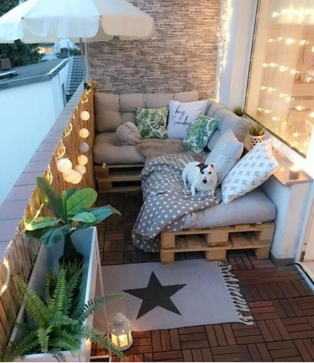 Small Balcony Ideas (With images) | Small balcony decor, First ...