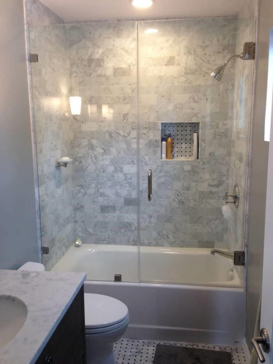 small bathroom designs with shower and tub in 8 | Small ...
