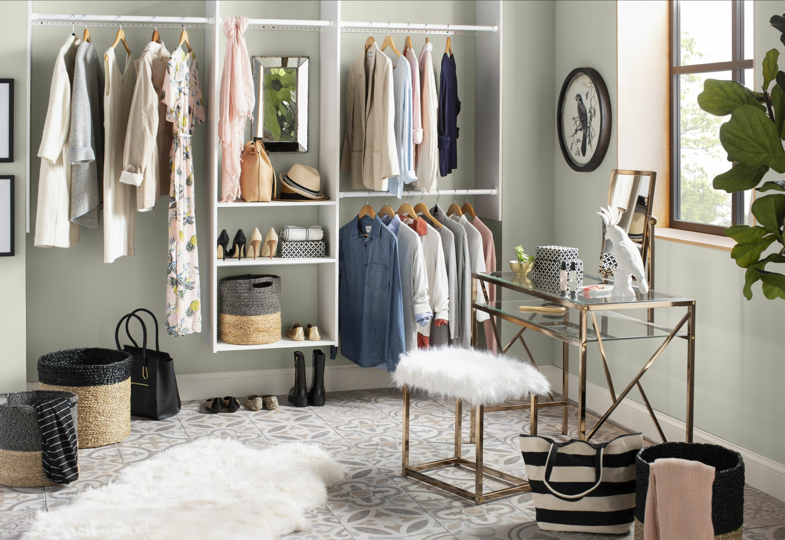 Small Closet Ideas: How to Maximize Your Space | Wayfair