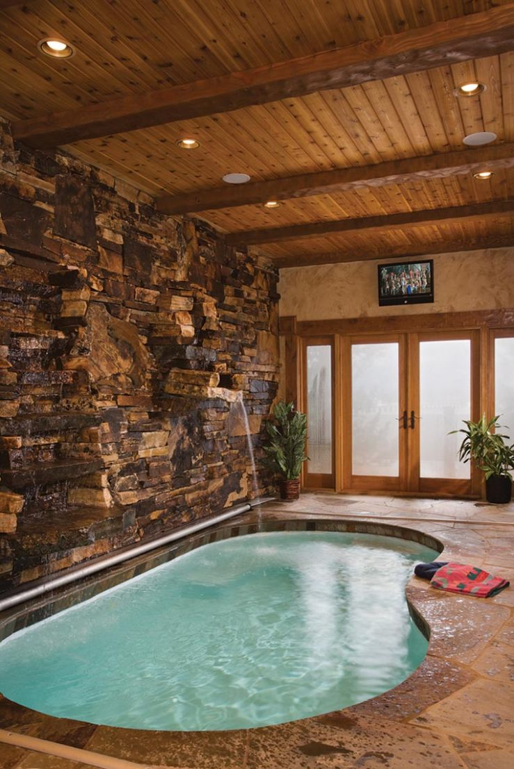 Small Indoor Pool Houses | Backyard Design Ideas