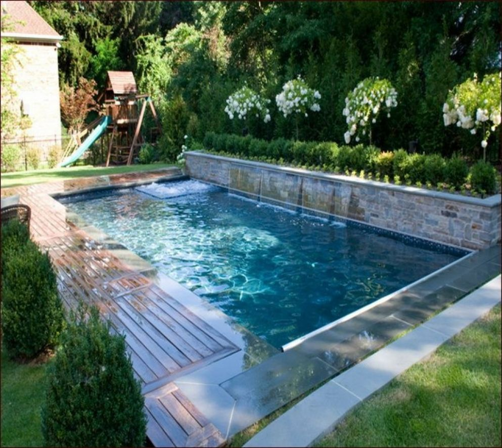 Small Inground Pool Ideas Cool Swimming Designs Decorating Design ...