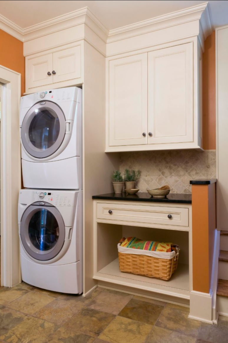 Small Laundry and Mud Room Inspiration | Swanky Design Company - mudroom laundry room makeover ideas