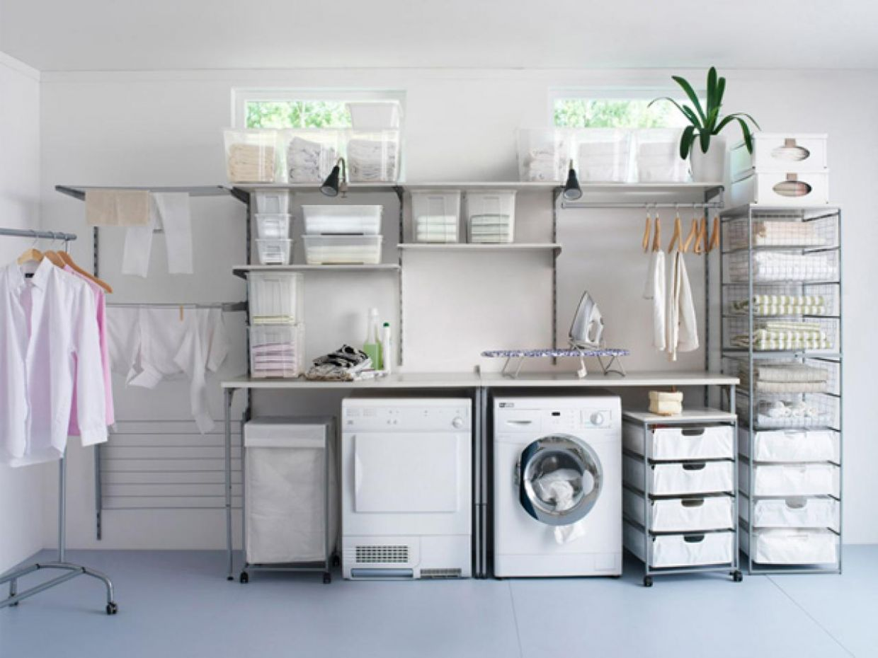 Small Laundry Room Organization Diy - laundry room storage ideas