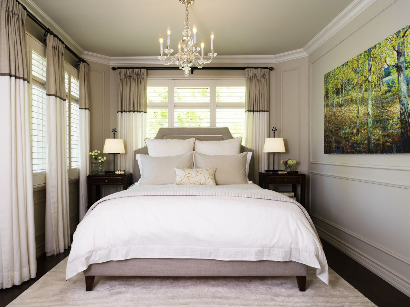 Small Master Bedroom Design Ideas, Tips and Photos - bedroom design ideas 10 x 11
