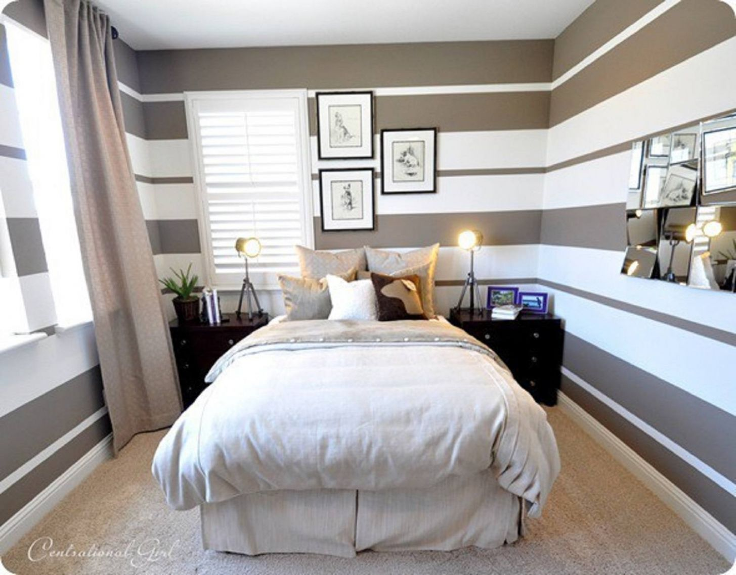 Small Master Bedroom Design Ideas, Tips and Photos - small bedroom ideas 9 x 11