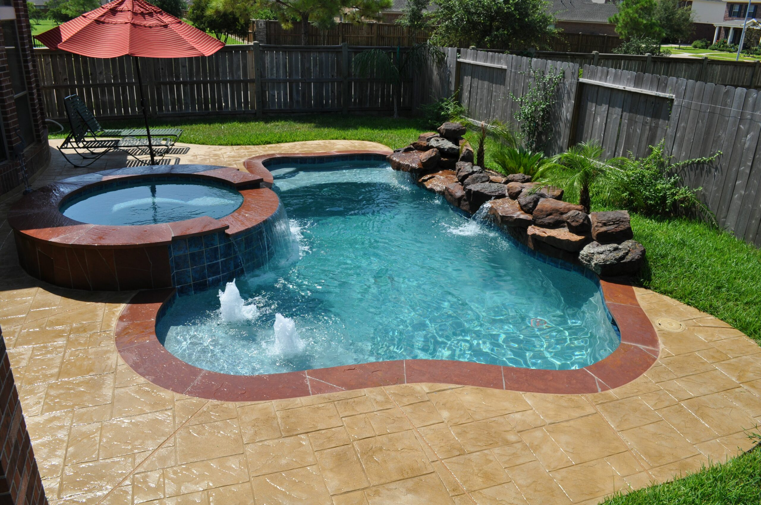 Small Pool And Spa Designs Best Spool Ideas On Pools Mini For ..