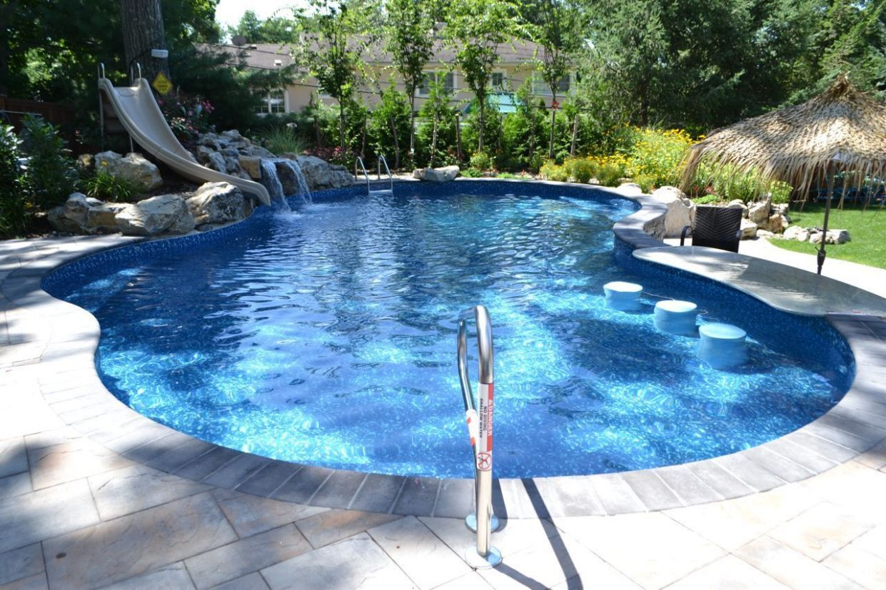 Small Sloped Yard: Fitting a Pool and Other Outdoor Living ...