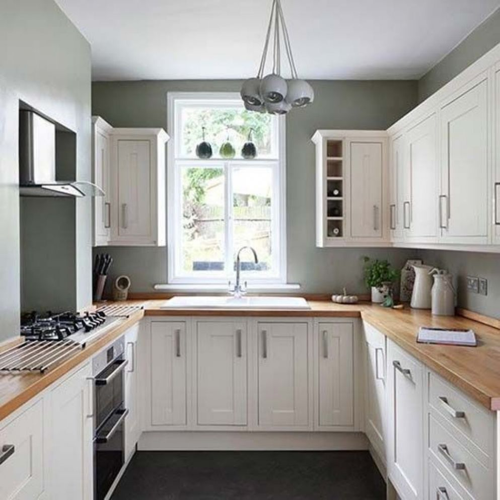 Small Square Kitchen Design Ideas Best U Shaped Room Interior And ..