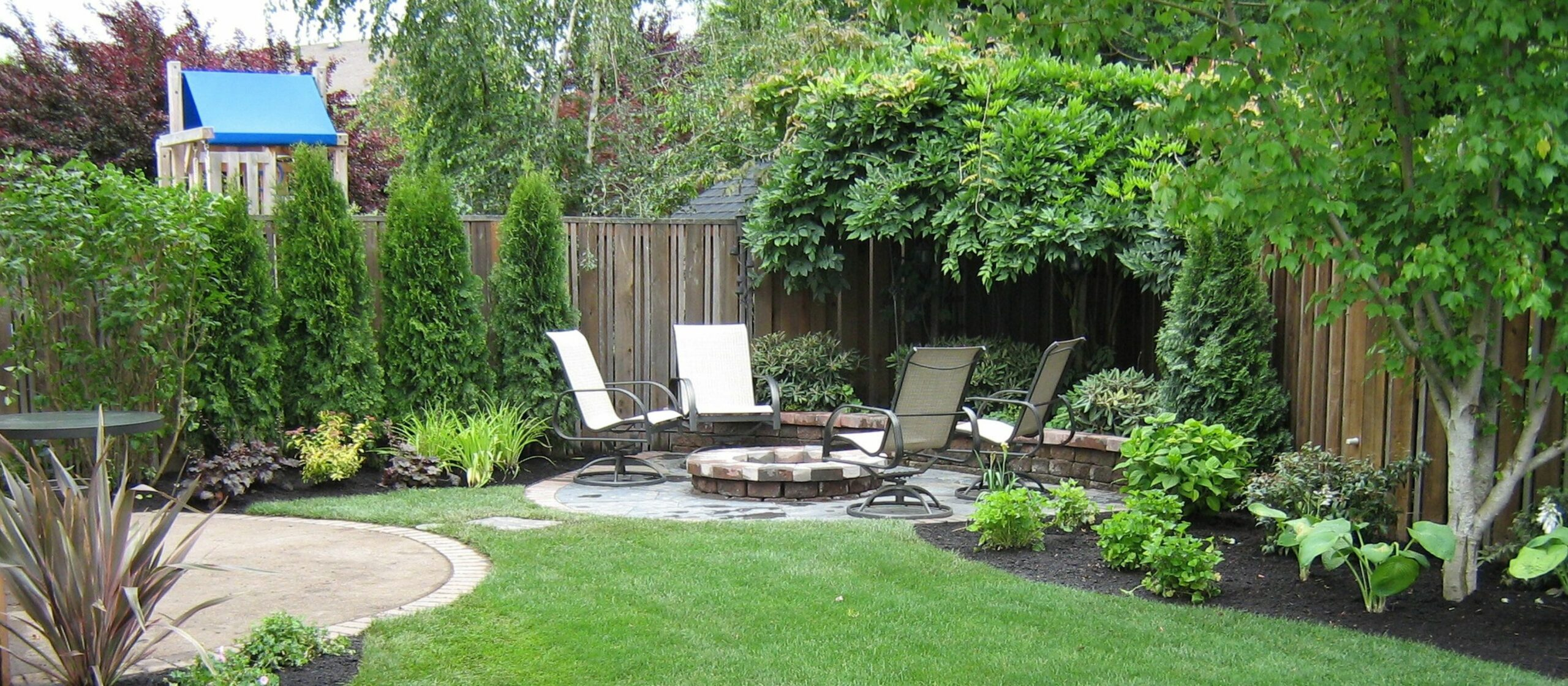 Small yard landscaping ideas georgia southern (With images ...