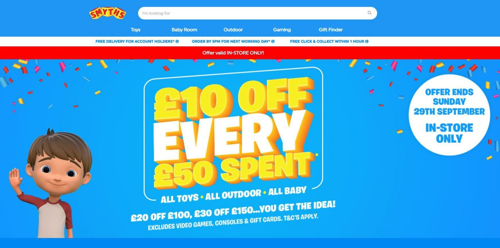 Smyths Toys is giving shoppers £8 off but you have to spend £8 ..
