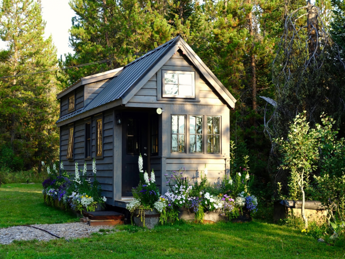Some people choose tiny houses to save money, but they might not ..