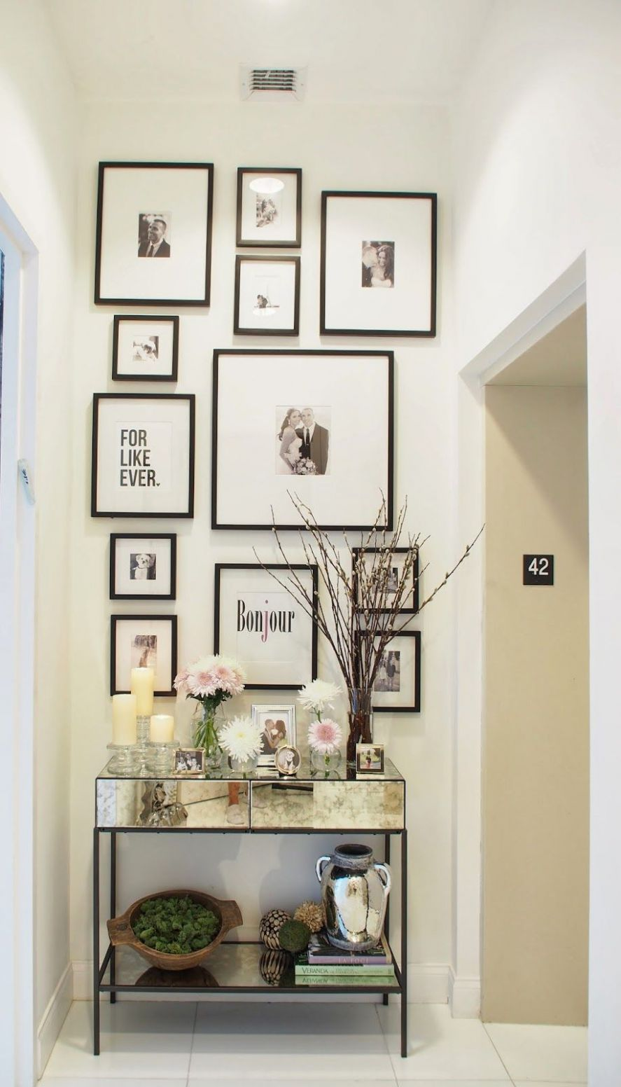 Spring Entryway Decor (With images) | Entryway wall decor ..