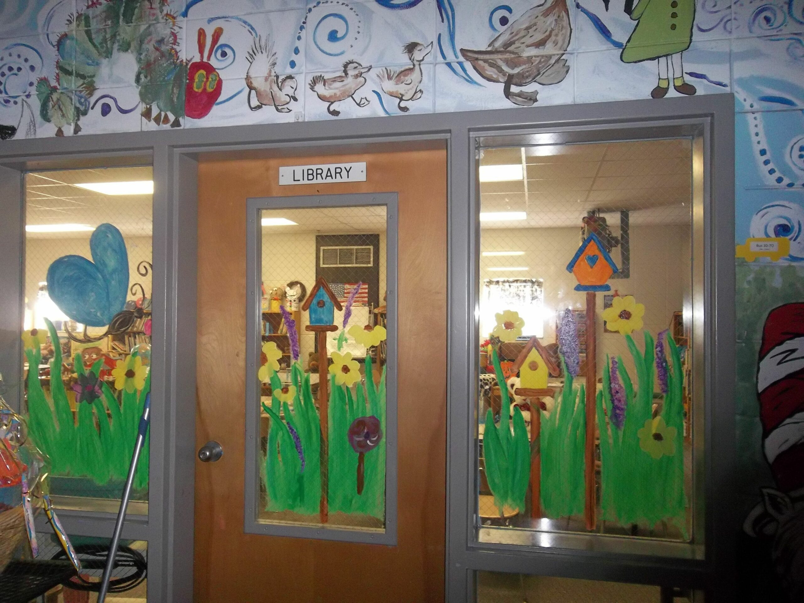 spring window painting ideas - Google Search   Window mural ..