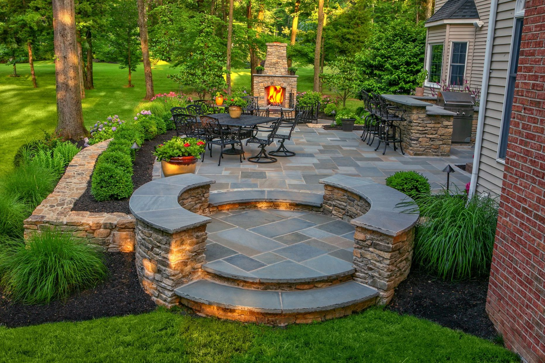 Stonework Steps and Stairs Design in NJ Gallery (With images ...