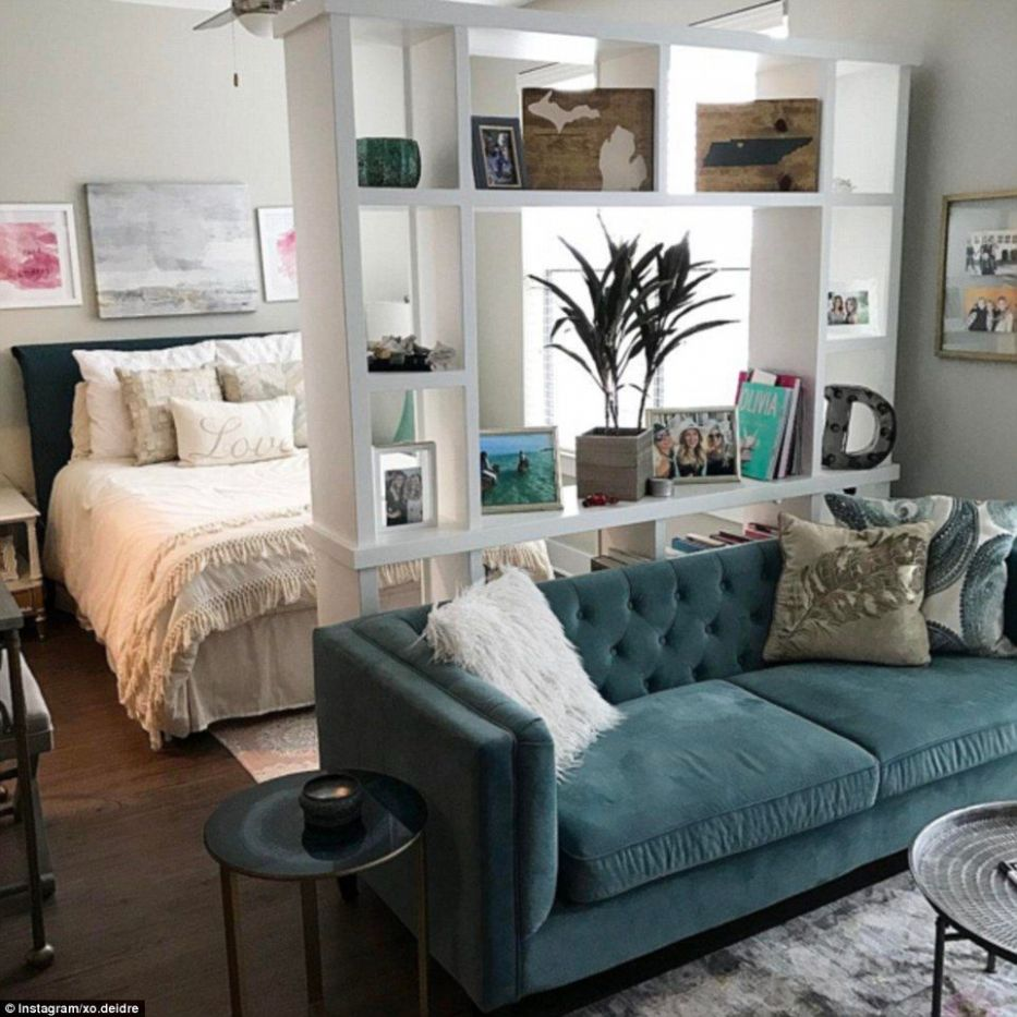Studio dwellers show off very glamorous micro living spaces ..